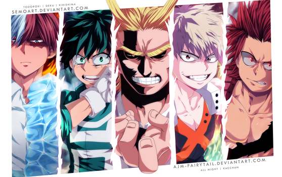 Heroes   Collab by AJM-FairyTail