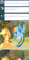 applejack dont cry :C by G-Blue16