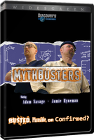 Mythbusters DVD Cover by SacrificialS