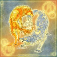 Wolves of Moon and Sun: yuumei by Elemental-Wolfpack