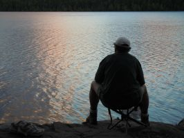 The Fisherman 0802 by EchoingDroplet