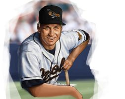 Cal Ripken Jr sketch One by huskertim27