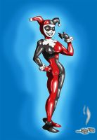 Kas and living suit of harley quinn pt 3 by Vytz