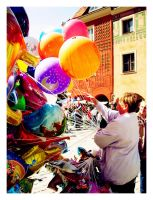 les ballons by istblack
