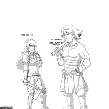 [Fire Emblem Fates] Fighter and Oni Savage by Rukotaro
