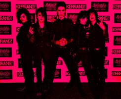 BVB at the kerrang awards by marshmallow-away
