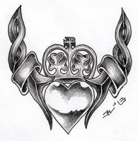 ...celtic claddagh I... by roblfc1892