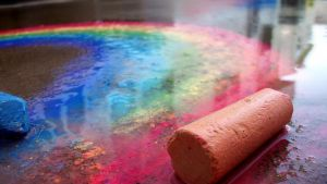 Chalk Rainbow by LA34