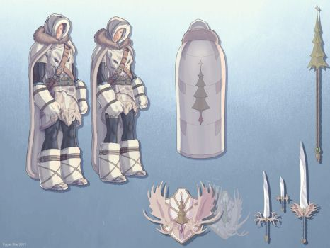 Wintumber Outfit - Winter Outfit competition '13 by Fugaz-Star
