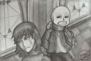 Frisk's regret by CenikEliv