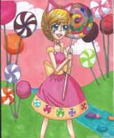 Candy Land girl by TheLuckyStarhopper