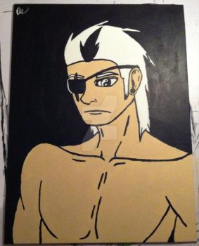 Male painting June 8th 2014 by KiraTheGreat13