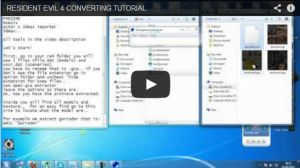 RESIDENT EVIL 4 CONVERTING TUTORIAL by Oo-FiL-oO