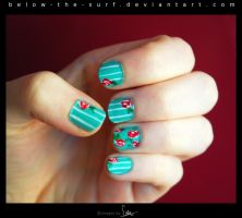 Rose Nails by below-the-surf