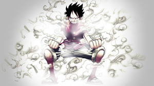 One Piece - Luffy 2nd Gear by PT-Desu