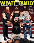 Wyatt Family Comic Book Cover by redchaos187