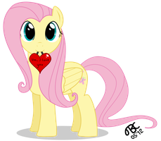 Fluttershy: Um.., I love you! by TBCroco