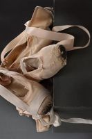 Old ballet shoes by lawrencew