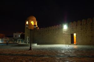 Sousse mosk at night by jmphotos
