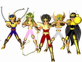 Saint seiya - Bronze Gold by Wets01