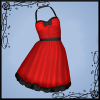 Red Dress DOWNLOAD by Reseliee