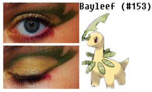 Pokemakeup 153 Bayleef by nazzara