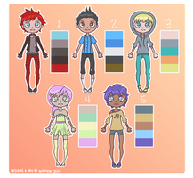 Color Palette Adopts 10 [OPEN] by wick-y