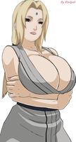 Tsunade amazing cleavage1 by Etsitpab