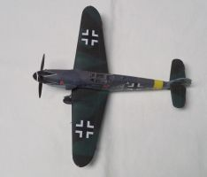 Aircraft of the Aces: Erich Hartmann's Bf 109 by sentinel28a