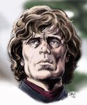 Tyrion Lannister by Simon-Williams-Art