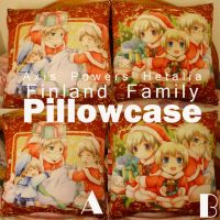 APH- Finland family pillowcase by siguredo