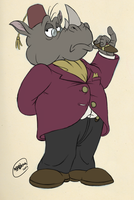 Sir Rhinosworth by SharpDressedReptile