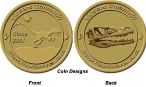 Coin Emblem Design by RaptorArts