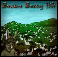 Vegetables: Beware Bunny Hill by annora