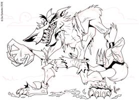 Werewolf Inks by 2Ajoe