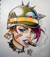 Tank Girl by Frosttattoo