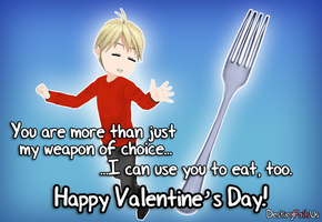 [DFU Valentine's Day] JamesxTheFork by DestinyFailsUs