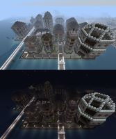 New Lakeside City Completed by C-MaxisGR