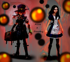 Alice X Dorothy by AngelKiller666