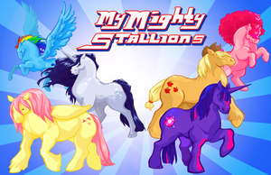 My Mighty Stallions by AstroRobyn