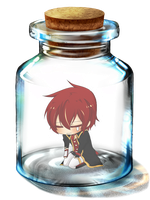 :Vocalouji:Dai:in:a:bottle: by KaiSukiStamps