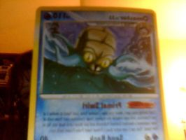 my REAL misprinted pokemon card possibly for sale by accailia118
