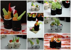 Mini Sushi by Jonisey