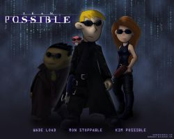 Enter The Matrix-Team Possible by WarBandit