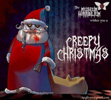 Santa Claws' Creepy Christmas by Angilram