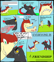 A Woof Comic MS PAINT EDITION by StapledSlut