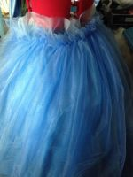 Cinderella tulle skirt Wip by DramaDollLover