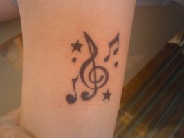 my sisters music notes by Trikone23
