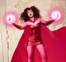 Wanda Maximoff -Scarlet Witch- by gothicFLAVOURS