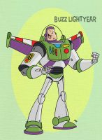 Pixar Madness Month - Day 29 - Buzz Lightyear by tyrannus